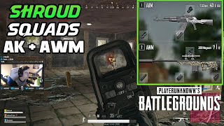 SHROUD, CHOCOTACO AND BOOMZY SQUADS | PLAYERUNKNOWN'S BATTLEGROUNDS (5/18/18)