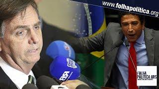 URGENTE: Bolsonaro se pronuncia sobre Magno Malta e ministérios durante entrevista coletiva
