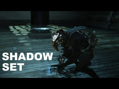 Shadow Dark Souls Dark Souls 2 Shadow Set