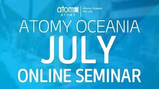 Atomy Oceania July One Day Seminar Online