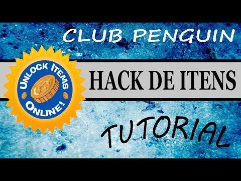 Hack de Itens Club Penguin 2014 (Roupas, Puffle, Tênis, Etc...)