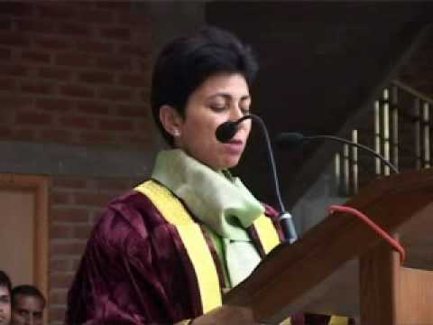 IILM  First Annual Convocation Kumari Selja.