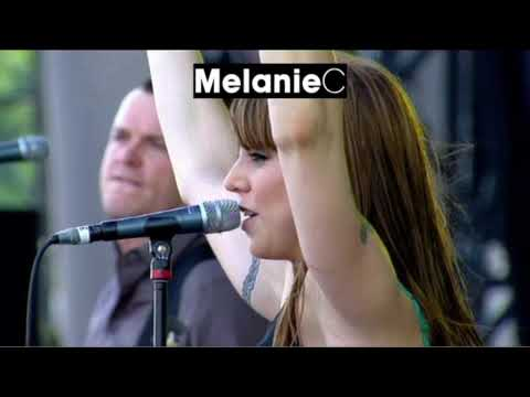 Melanie performs a 10 song set at the Isle Of Wight Festival on June