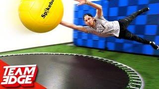 GIANT Spikeball Challenge!! 🌕