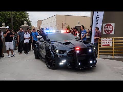 Download Lagu Mustang Cop Car SHUTS DOWN this SUPERCAR MEET! MP3 Free