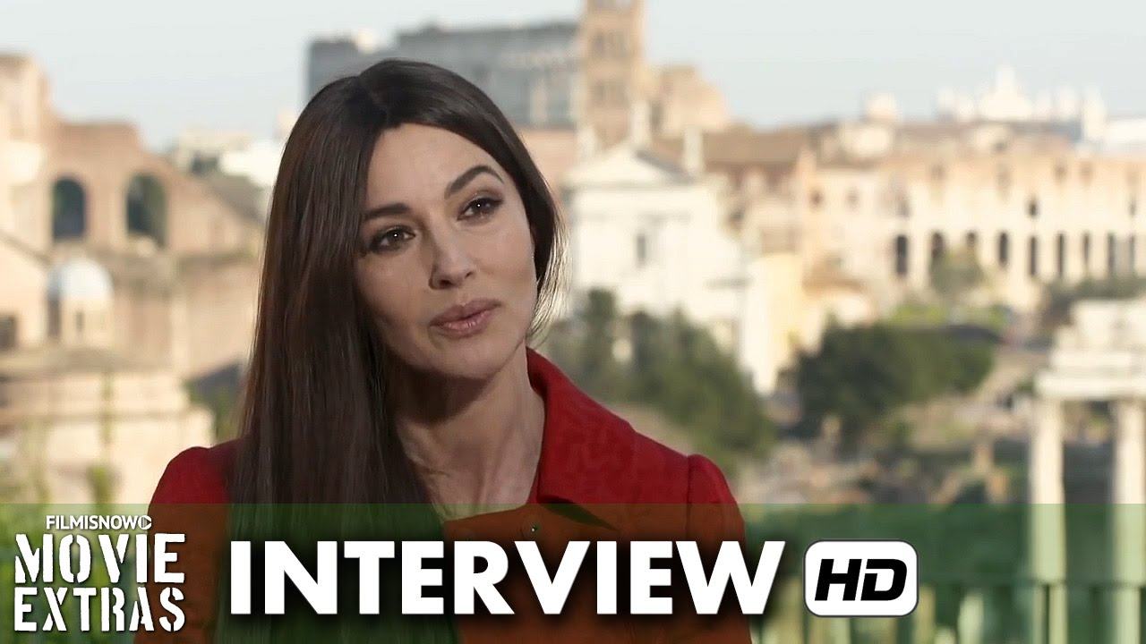 Spectre (2015) Behind the Scenes Movie Interview - Monica Bellucci is 'Lucia Sciarra'
