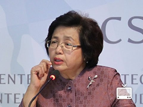 Thailand Speaker Series: Kanda Vajrabhaya, Chairperson of the UN Commission on the Status of Women