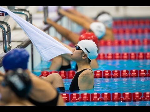 Swimming - Women's 50m Backstroke - S2 Final - London 2012 Paralympic Games