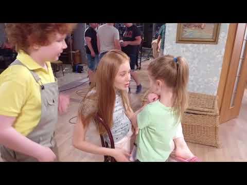 Семья Светофоровых 3 сезон. Что происходит за кадром?! Посмотрите что делают актеры!