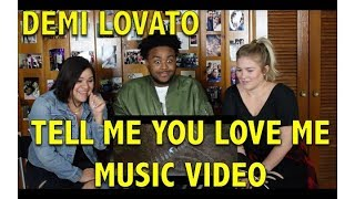 Download Lagu DEMI LOVATO- TELL ME YOU LOVE ME MUSIC VIDEO REACTION/REVIEW Gratis STAFABAND