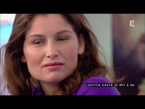 Laetitia Casta et Safy Nebbou - C à vous - 17/02/2017