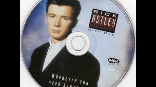 Watch Rick Astley Slipping Away video