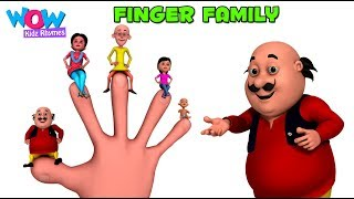 download lagu Finger Family Song I Motu Patlu I Animated Nursery gratis