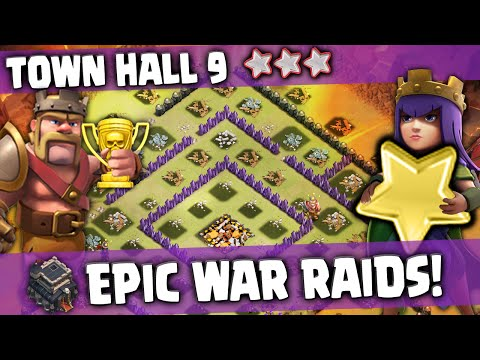 Clash of Clans - Will this TH9 WAR clan finally be defeated?