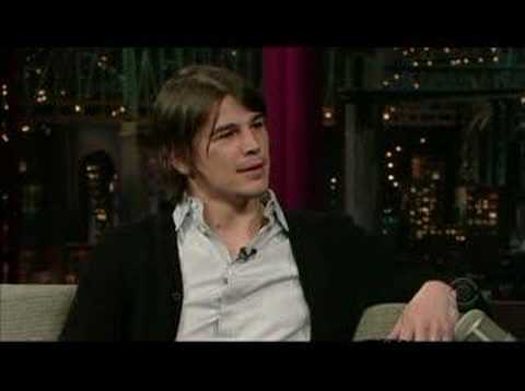 Josh Hartnett on Letterman