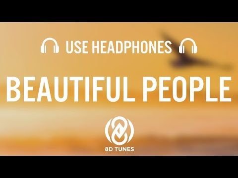 Download Ed Sheeran  Beautiful People feat Khalid  8D AUDIO