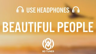 Download Ed Sheeran  Beautiful People feat Khalid  8D AUDIO MP3