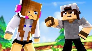 Minecraft: PARKOUR PVP - BIBI FICOU BRAVA COM O SR PEDRO!
