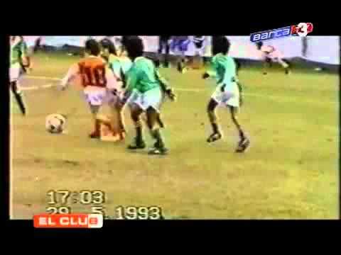 Futbol - Messi nin 5 yaşındaki görüntüleri