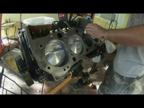 Big Block Chevy 454 Rebuild Time Lapse 7.4l DIY How to BBC