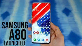 Samsung Galaxy A80 Launched In India - Itna Jayda Price !! Full Details In Hindi |