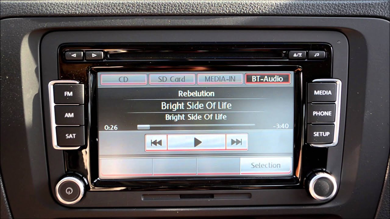 How To Stream Bluetooth Audio With The Vw Premium Viii