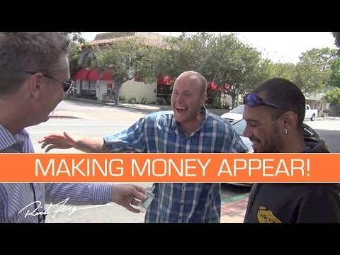 MAKING MONEY APPEAR! (Magic Trick and Prank)