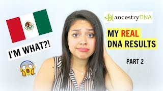 MY REAL MEXICAN DNA RESULTS!! | ForeverMicaia