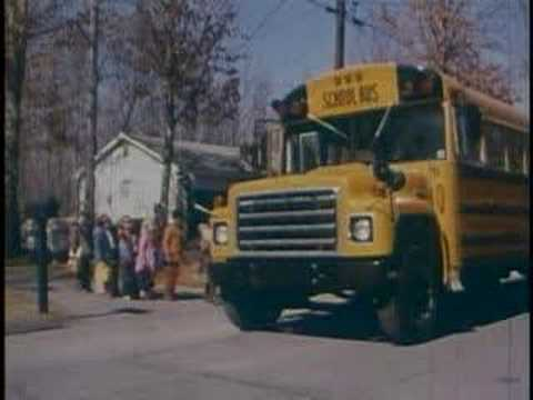 """Bus Nut"" – A Vintage Educational School Bus Safety Film"