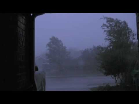 Rain Storm And The Sounds Of A Tornado