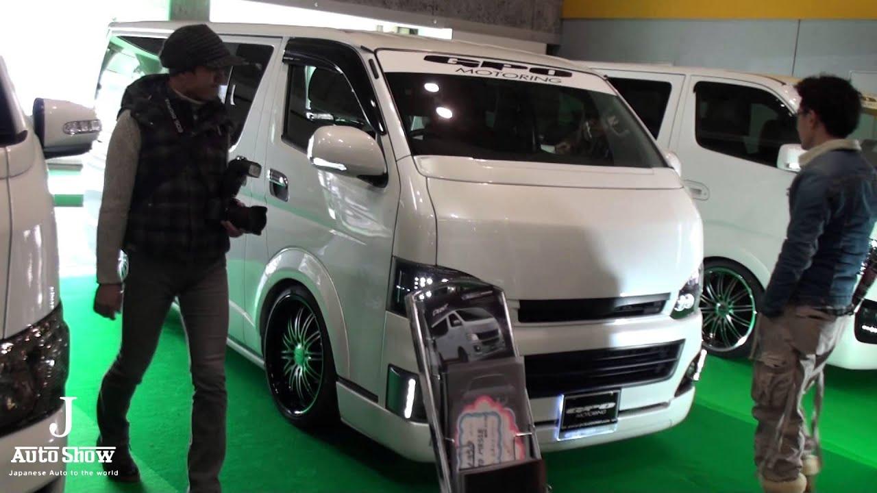 Hd Osaka Auto Messe 2013-toyota Hiace Booth  U5927 U962a U30aa U30fc U30c8 U30e1 U30c3 U30bb
