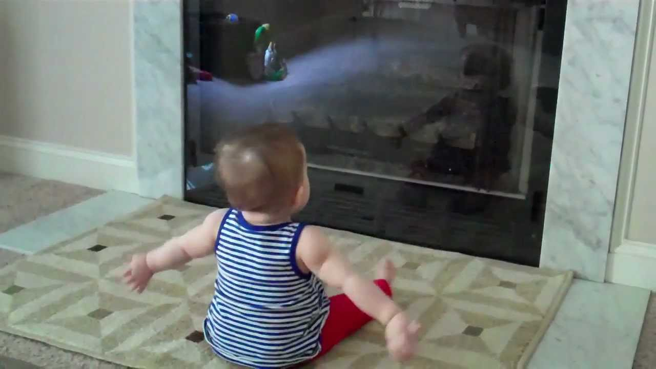 Baby vs DIY Fireplace Guard - YouTube