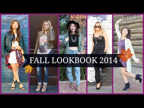 Fall Fashion Lookbook 2014 (9 Outfit Ideas)