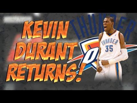 Kevin Durant Returns! Former MVP VS Future MVP?!?! ( NBA 2K15 )