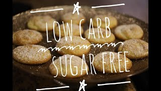 LOW CARB SUGAR FREE ALMOND COOKIES// KETO FRIENDLY QUICK AND EASY