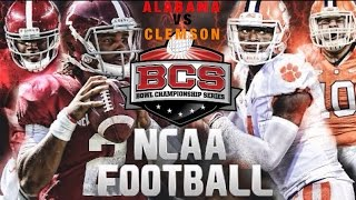 "Alabama vs Clemson Highlights || 2017 Hype Pump Up Video || ""All The Way Up"" 