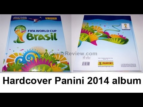 World Cup 2014 Panini Hardcover Sticker album Starterpack FIFA Brazil