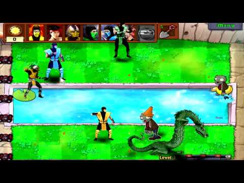 Mortal kombat vs Plants vs Zombies !