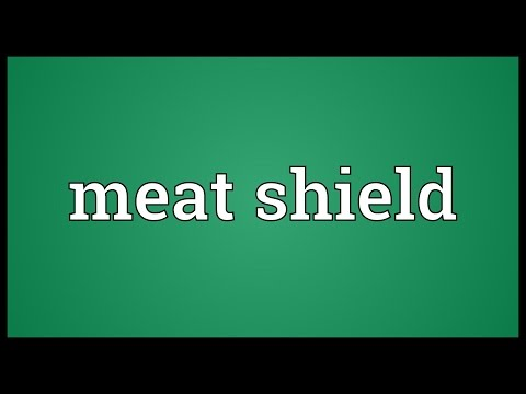 Header of meat shield