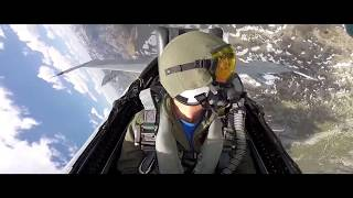 Behind the Scenes: F/A-18 Flight Over the Mountains