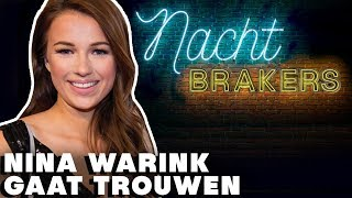 NINA WARINK in eigen LINGERIELIJN of BRUIDSJURK?😮| Nachtbrakers - CONCENTRATE