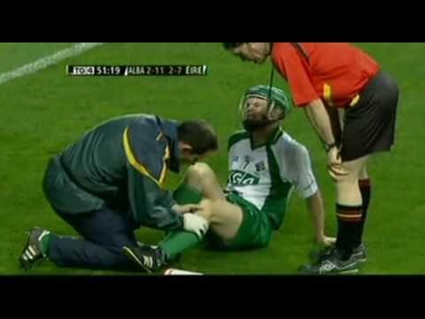 Hurling hits  tommy walsh  ireland v scotland