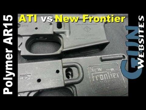 Plastic AR15: ATI Omni vs New Frontier