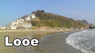 Looe in Cornwall England on A Perfect Day
