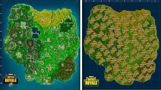 Ik wil een nieuwe map (Fortnite: Battle Royale)