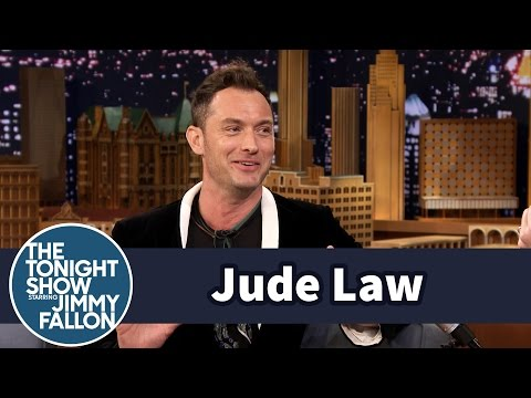 Jude Law Jumped onto a Speeding Submarine in the Ocean