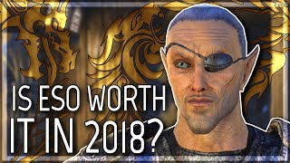 ESO: Is It Worth Playing in 2018? (Elder Scrolls Online | 1080p | PC)