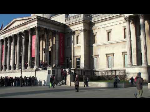 2009 Euro Travel #58 - UK #17 - Trafalgar Square and The National Gallery