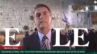 ✅ ISRAEL diz que BOLSONARO é o candidato SIONISTA deles!