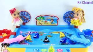 ChiChi ToysReview TV - Trò Chơi Búp bê chơi câu cá siêu tài